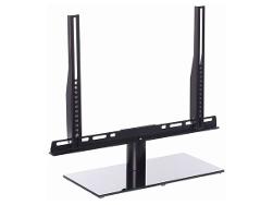 Cavus TV tafelstandaard draaibaar medium 37-42 zwart glas